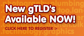 gTLD's Available Now!