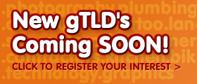 gTLD's Coming Soon!